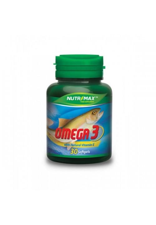 Nutrimax Omega 3 30 softgels
