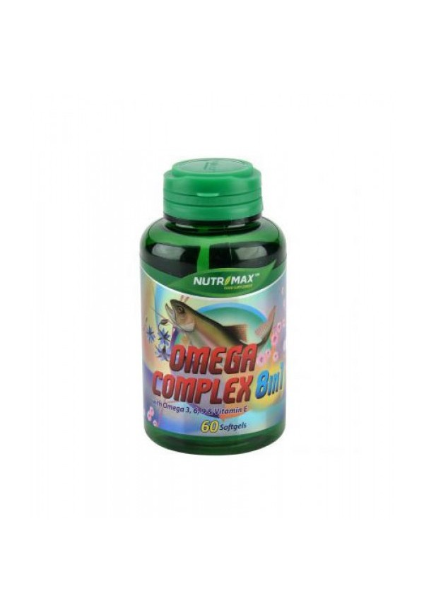 Nutrimax Omega Complex 8 in 1 60 softgels