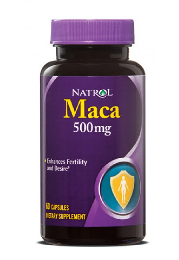Natrol Maca Extract 500 Mg (60 Caps)
