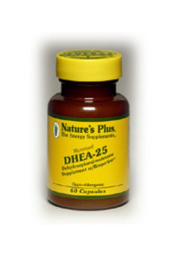DHEA 25 with Bioperine - Nature's Plus