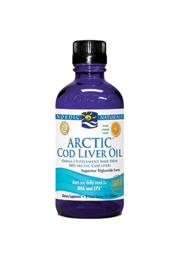 Arctic COD Liver Oil Liquid Orange