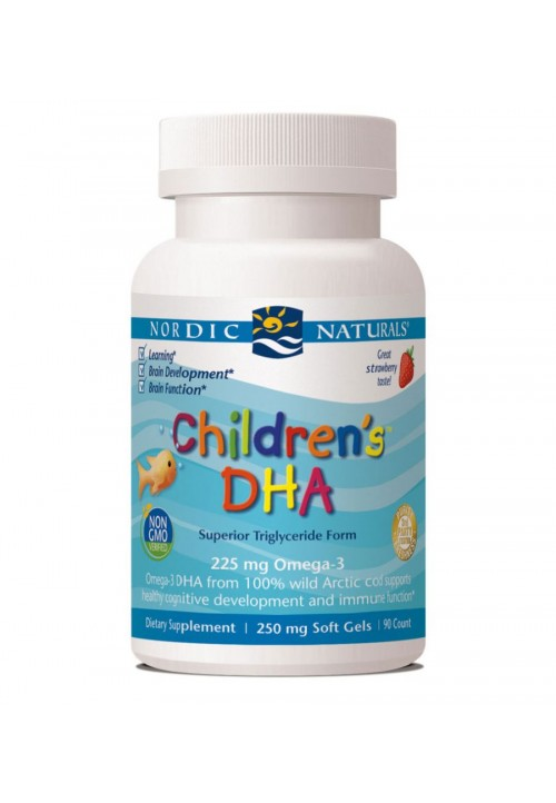 Children's DHA Strawberry (Softgel)