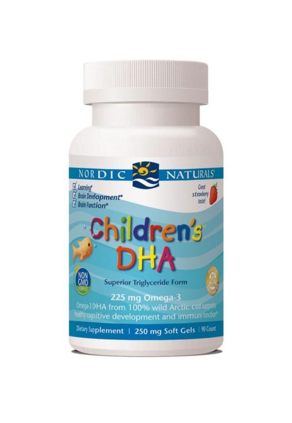 Children's DHA Strawberry (Softgel)