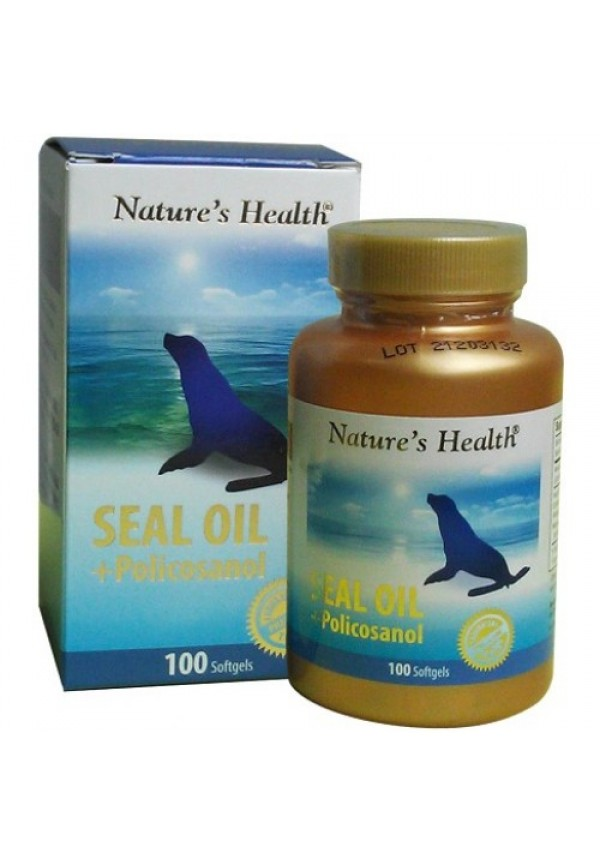 Seal Oil + Policosanol