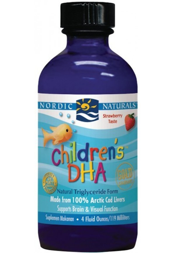 Children's DHA Liquid (StrawberryTaste)