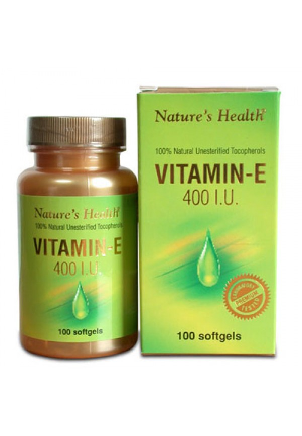 Vitamin E 400 IU - Nature's Health