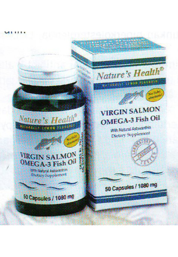 Virgin Salmon Omega-3 Fish Oil