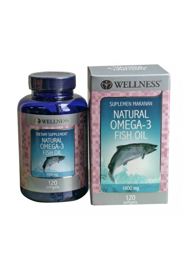 Omega 3 Fish Oil (375) - Wellness