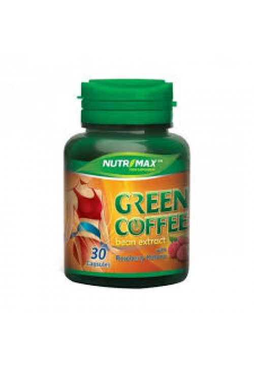 NUTRIMAX GREEN COFFEE BEAN & RASPBERRY KETONE NATURECAPS - 30